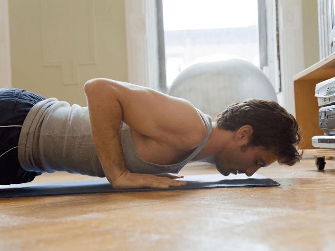 ejercicios para pectorales sin pesas