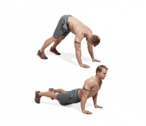 Pushup Dive-Bomber