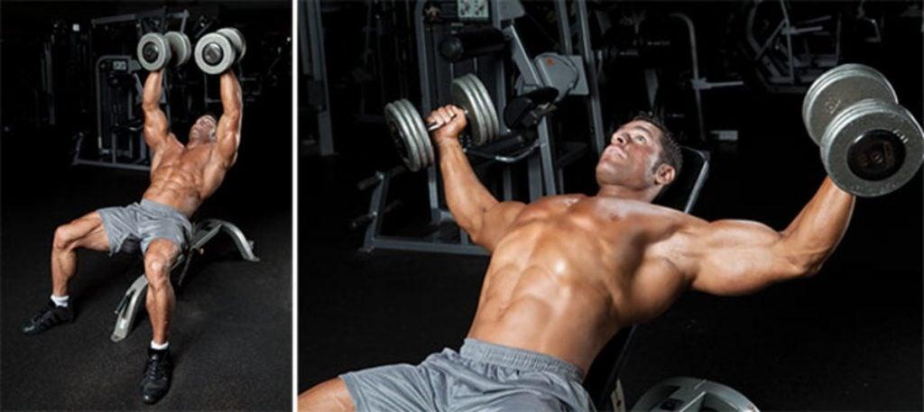 ejercicios para pecho gym