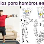 Los 10 mejores ejercicios para hombros en casa