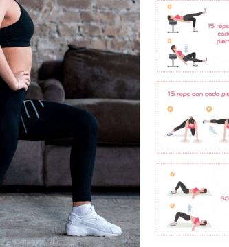 11 ejercicios para aumentar gluteos en casa