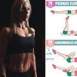 5 ejercicios de abdominales para mujeres principiantes