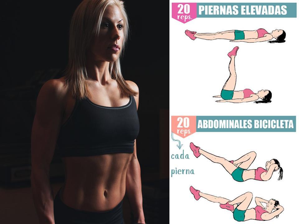 abdominales para mujeres principiantes