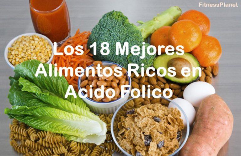 Los 18 mejores alimentos ricos en ácido fólico