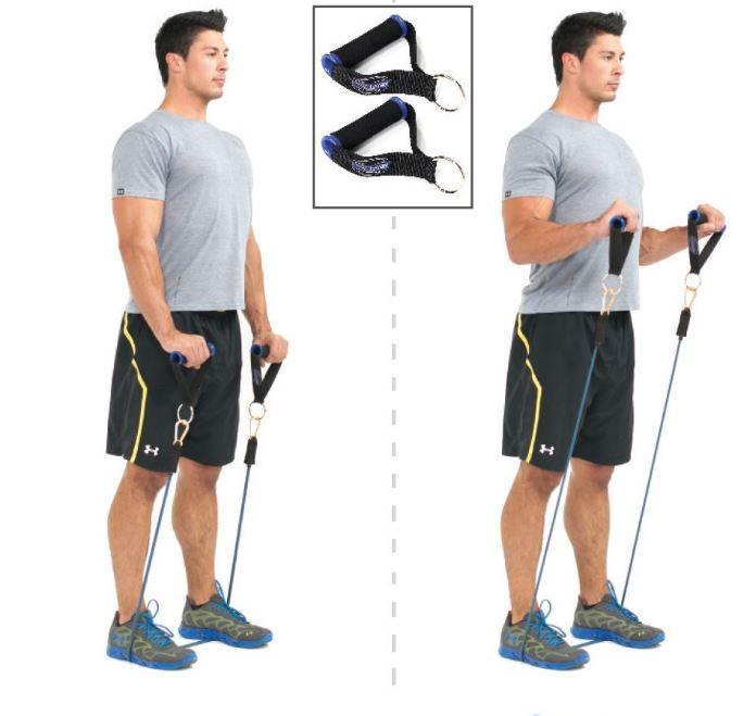 ejercicios para biceps en casa
