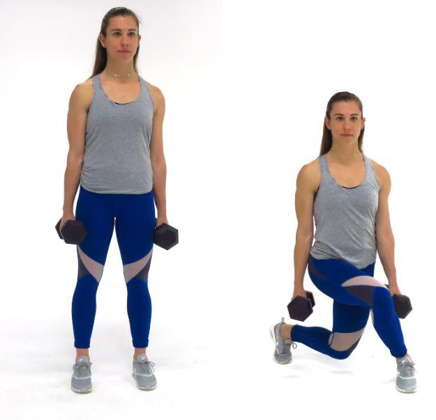 ejercicios para gluteos con pesas