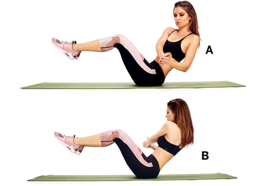 ejercicios para adelgazar cintura