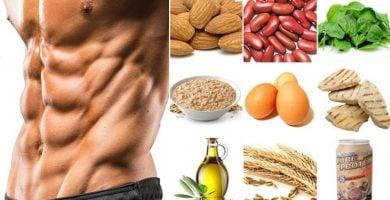 Las recetas efectivas de dieta para abdominales