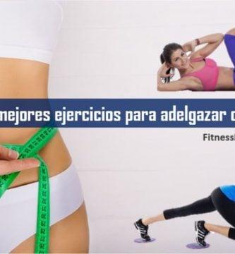 Los mejores ejercicios para adelgazar cintura