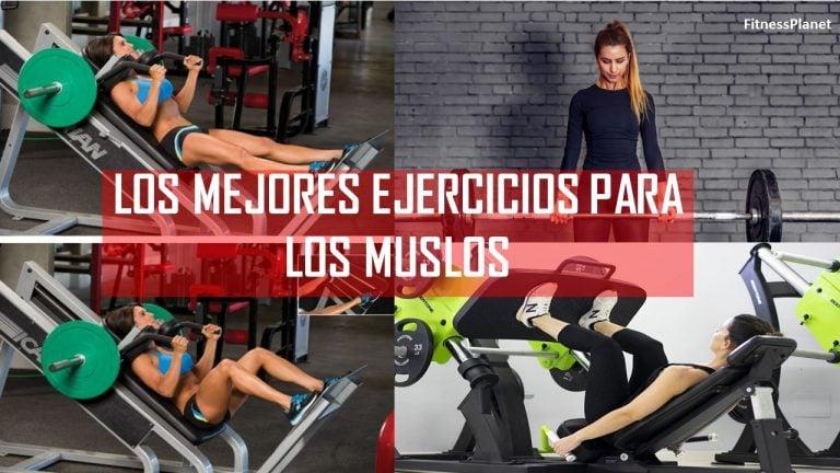 Los mejores ejercicios para los muslos