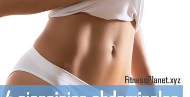 4 ejercicios abdominales para mujeres en casa