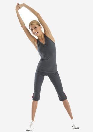 Ejercicios para aumentar la altura - Estiramiento vertical de pie