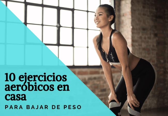 ejercicios aeróbicos en casa