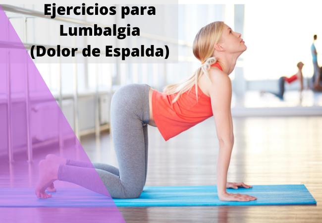 ejercicios para lumbalgia en casa