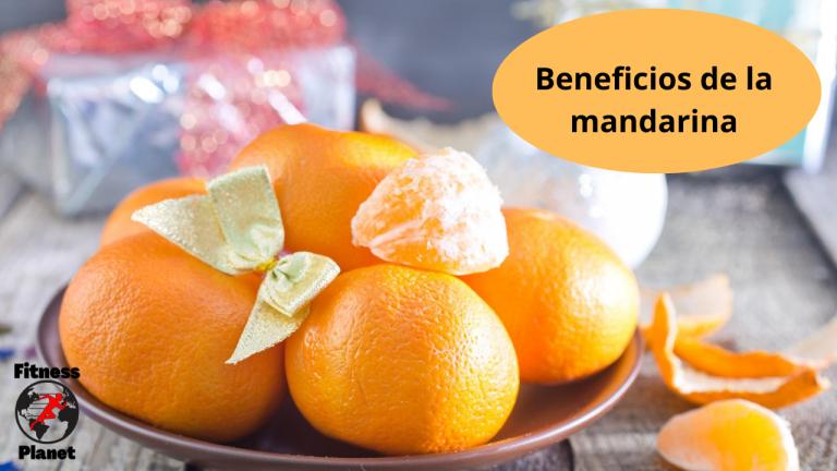 Los beneficios de la mandarina