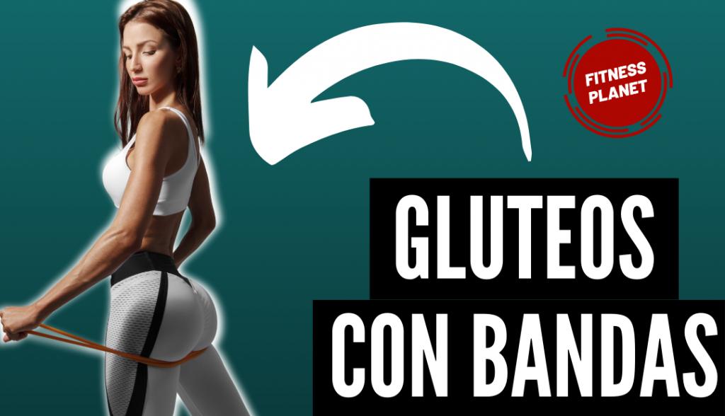 6 ejercicios con bandas de elasticas para glúteos