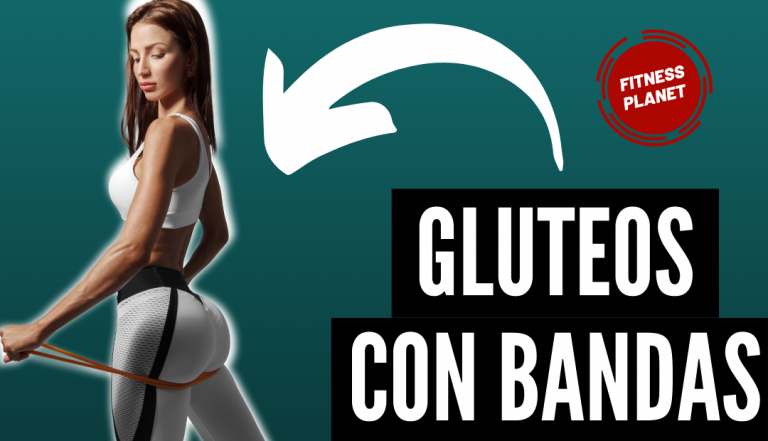 6 ejercicios con bandas elasticas para glúteos