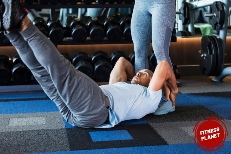 Como hacer abdominales levantando las piernas